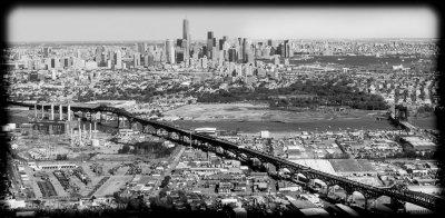 Concrete jungle of New York