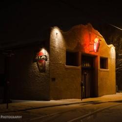 Snowfall in Santa Fe