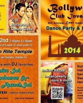 Постер индийского фестиваля Bollywood