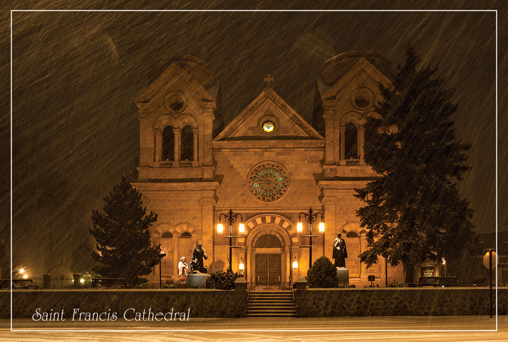 'Winter in Santa Fe' Postcard Set