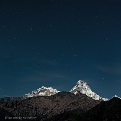 Anapurna at Night