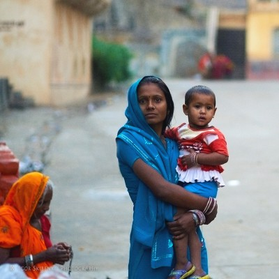 Mother and Child. Rajasthan