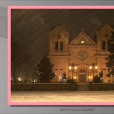 Snowy Santa Fe Slideshow