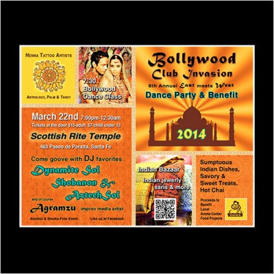 Poster for Bollywood Festival