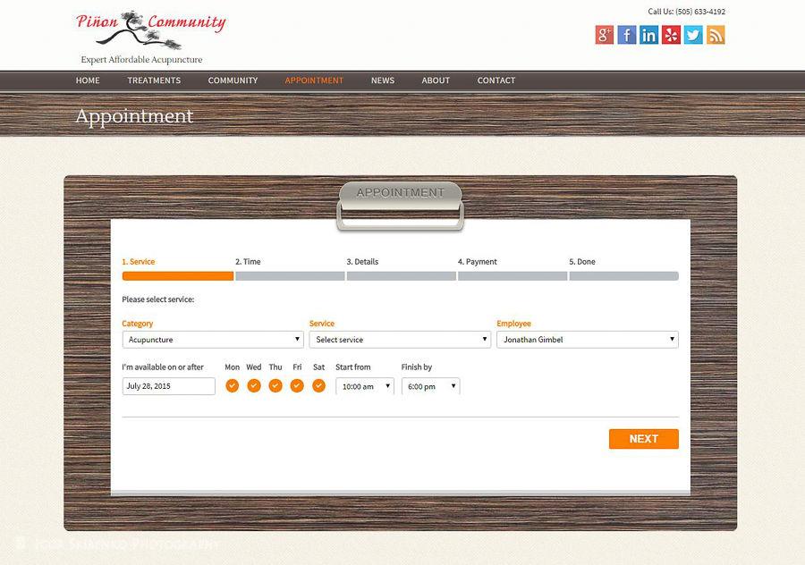 Web Design for Piñon Community Acupuncture