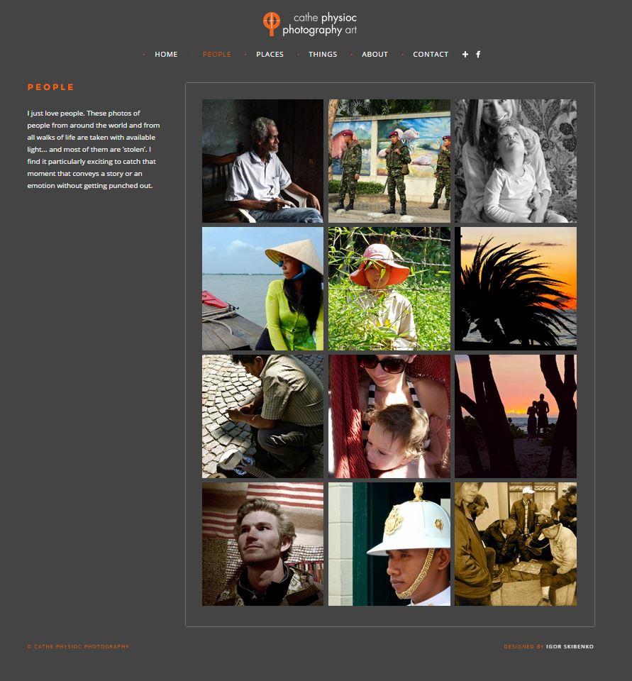 Cathe Physioc Photo Website