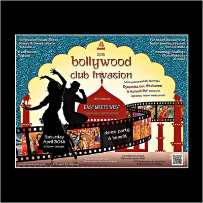 Poster for Bollywood Festival 2016