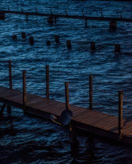 Пирсы на Чистом Озере