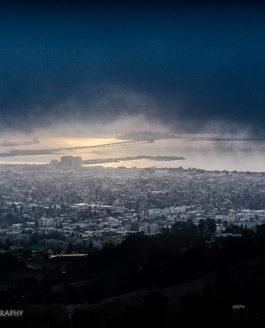 Залив Сан-Франциско в тумане